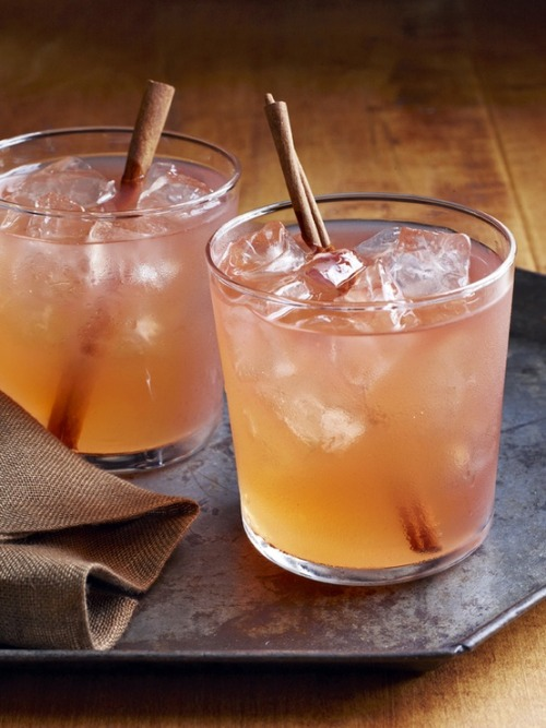 ruemag:  The Cider Jack Cocktail may be our drink of choice this fall. With a cinnamon swizzle stick, you can't say no! {image & recipe here}