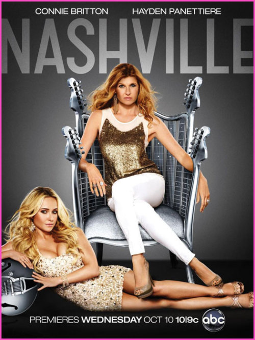 Love this promo for Nashville.  Connie Britton on the Iron Throne. As it should be.