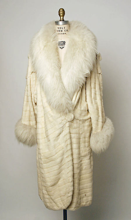 Coat late 1920s The Metropolitan Museum of Art