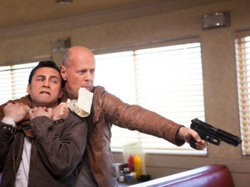 Watching 'Looper' in a theater? Bring headphones To encourage repeat viewings of his latest sci-fi flick, writer-director Rian Johnson releases an audio commentary track that you can listen to on your iPod. For more, go to CNET.