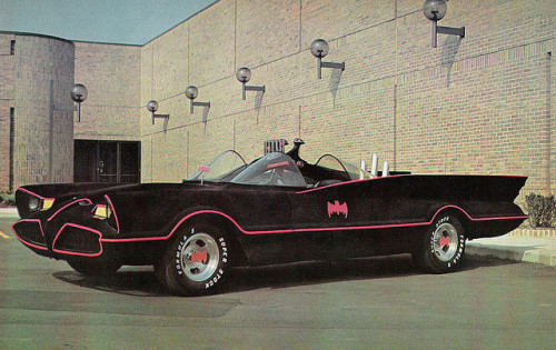 "The ""Fuzzy"" Batmobile of the 70s (1975)"