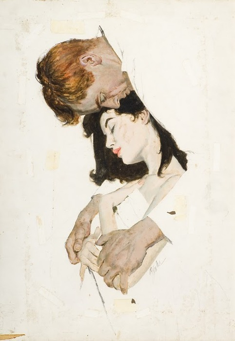 Man and Woman Asleep - Good Housekeeping by Joe Bowler. Visit the artist's official website here.