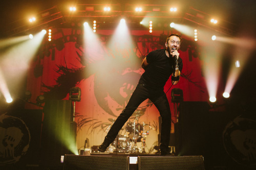 Tim McIlrath of Rise Against.