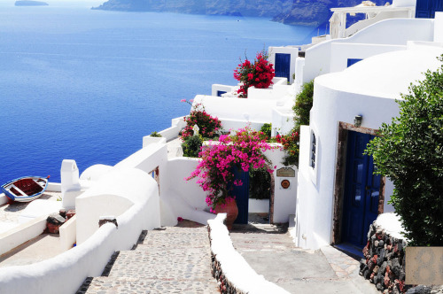 Typical white and blue - Santorini
