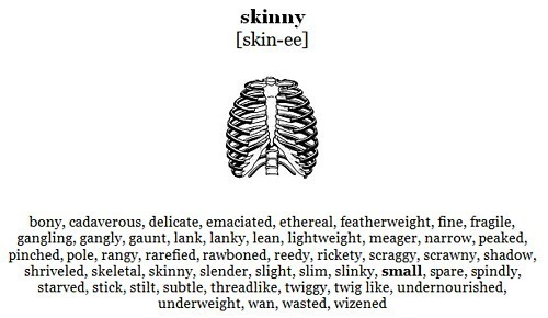 "jerseynerdz:  Skinny isn't beautiful  I take offense to this. It's true, skinny shouldn't be the ideal, but the reality is, there are a lot of insecure skinny girls out there that don't need someone telling them they aren't beautiful. Love your body, and to hell with everyone else. Stop saying ""Curves are beautiful"" ""Curves are what a real woman has"". I'm a real woman with an eating disorder, I'm skinny because I'm sick. So don't tell me I'm not a woman, because I'm pretty sure I am last time I checked. And don't tell me, or anyone else that's skinny, NO MATTER THE REASON THEY'RE SKINNY, that they aren't beautiful. Everyone is beautiful so uh, yeah, fuck you very much."