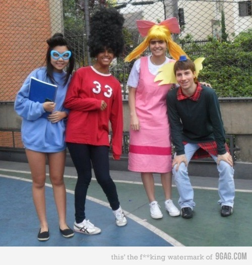picsandquotes:  Need Halloween costume ideas? Why not dress up as characters from the 90s? #3 is so cool! - ad http://bit.ly/UJdpg7