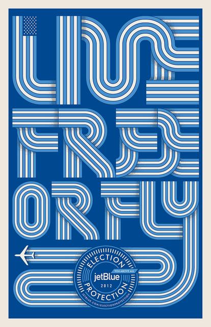 "Typeverything.com - ""Live Free or Fly"" by Unknown. (via Flyer Goodness)"