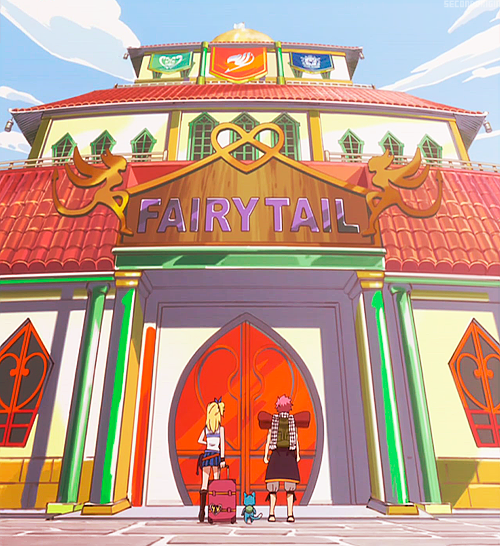 secondorigin:  Welcome to Fairy Tail!