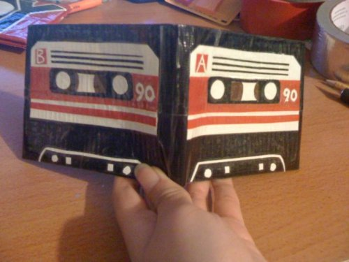 Cassette Tape Wallet Photo & Wallet by: Mamadukes