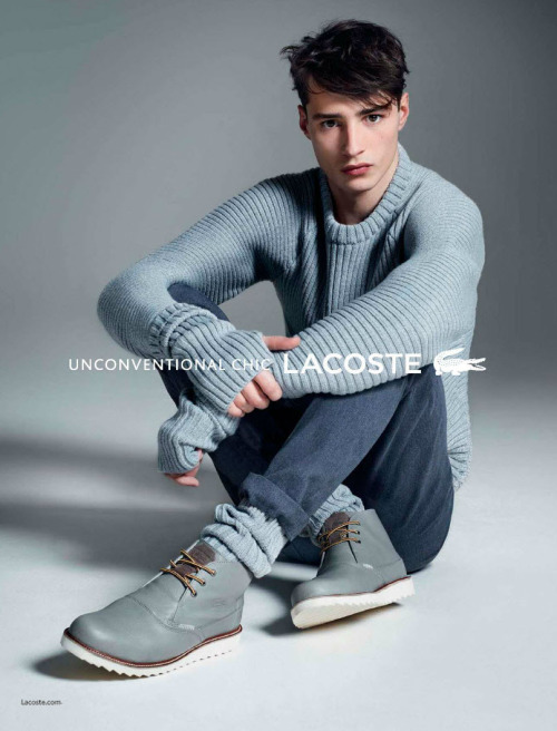 Adrien Sahores by Karim Sadli for Lacoste