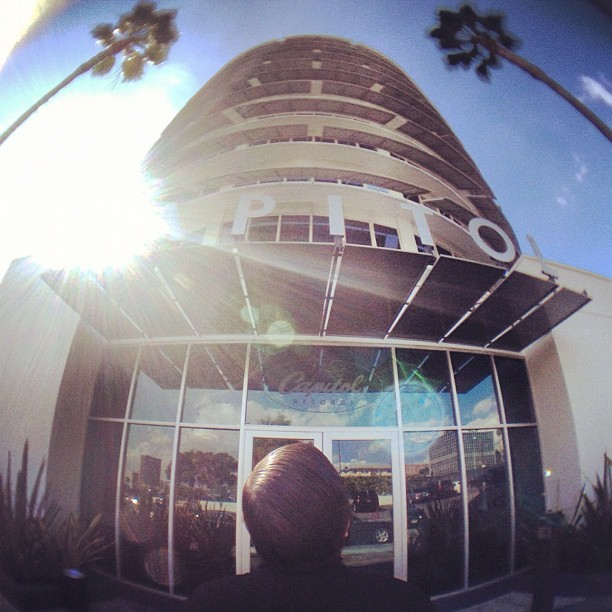 Katy Perry ? (Taken with Instagram at Capitol Records, CA)