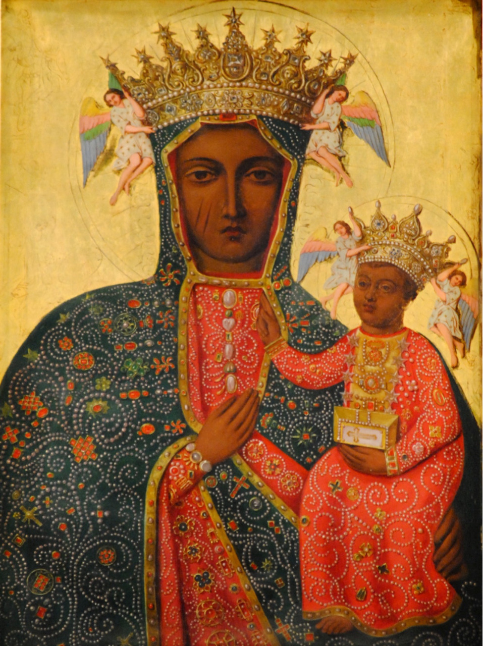 allaboutmary:  Our Lady of Częstochowa, Queen of Poland.