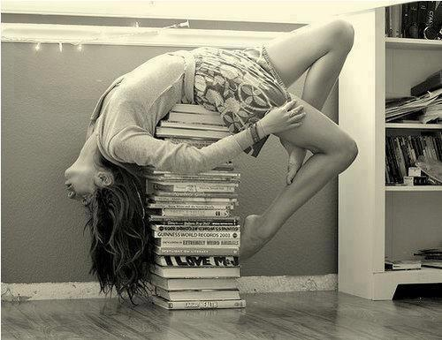 Books are simply yoga for your Mind