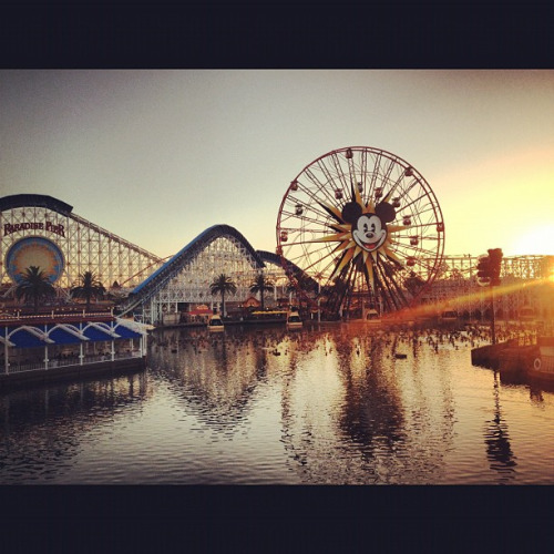 Golden Hour Paradise Pier by Random Things (Jen C.) on Flickr.