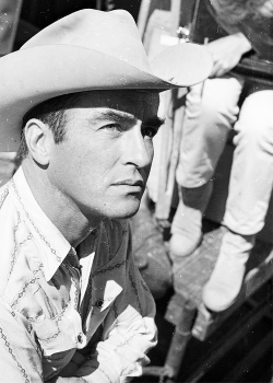 Montgomery Clift on the set of 'The Misfits', photographed by Ernst Haas.