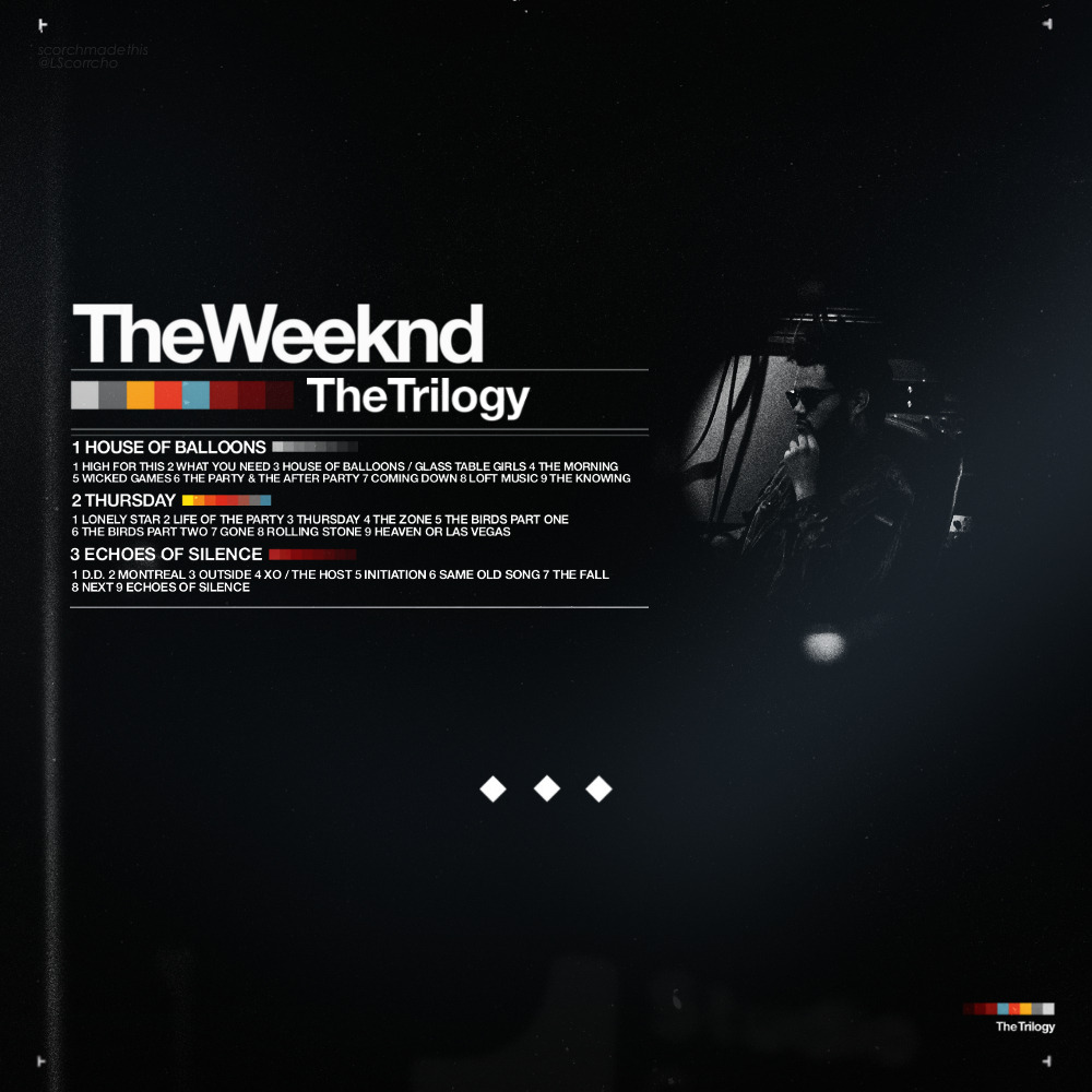 scorchmadethis:  The Weeknd - Trilogy