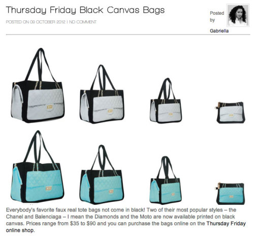 Everyone's liking Black Canvas. Read what M.I.S.S says here.