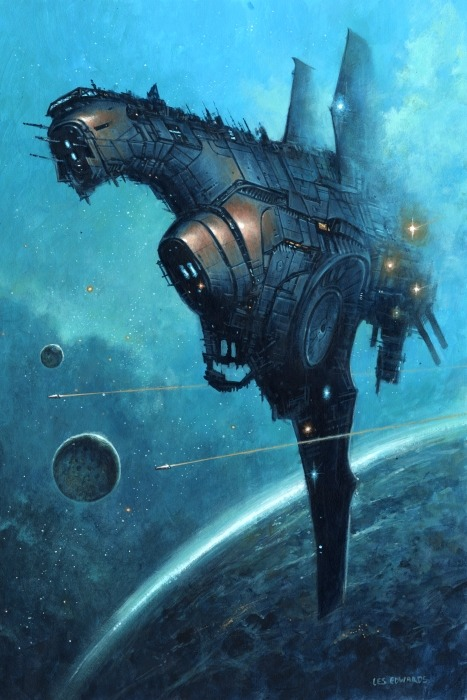Intruder by Les Edwards