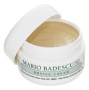 Mario Badescu Drying Cream Hi everyone! It's midterm season over here so I've been going through a lot of stress. It's no surprise that my skin has been breaking out like crazy. Instead of re-ordering my beloved Clinique Acne Spot Healing Gel, I decided to try something new. The Mario Badescu Drying Lotion has received a ton of great reviews online. But I was worried that it might be too drying for fall and winter months. So I decided to get the Drying Cream instead. So far, I like this product. I only use it as night because it has a pretty strong smell, which I have gotten used to by now. I prefer to use it before I put on my night moisturizer. The light fragrance of my moisturizer is able to cover up the smell of the acne product. I noticed a big difference overnight when I put the drying cream over cystic acne. As for white heads, it didn't seem do much. The packaging consists of a small pot and it seems like the product would last a long time. I've read some reviews where people said the product tends to dry up before you use up the whole thing. I didn't completely remove the seal so I could keep the container closed as tightly as possible. Overall, it's a pretty solid product and it works better than a lot of other spot treatments I've tried. But the smell and the packaging could bother some people. This product costs $14 and you can purchase it at Nordstrom and Ulta (ins stores only). What's your favorite acne treatment product? -Karen Image credits: here