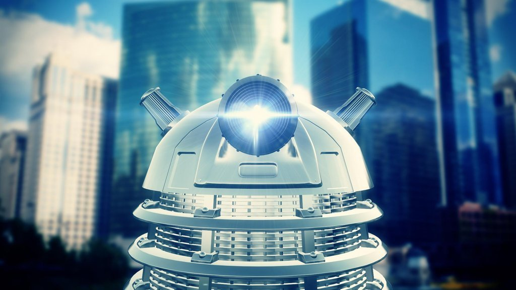 scificity:  Dalek 3d Model/After Effects pic i madehttp://scificity.tumblr.com
