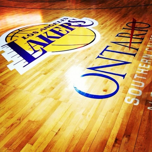Lets Go Lakers!! #lakers  (Taken with Instagram)