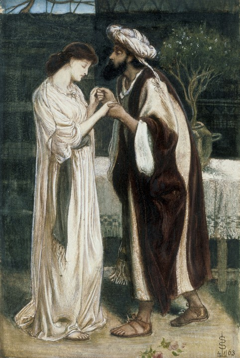 Isaac and RebeccaSimeon Solomon