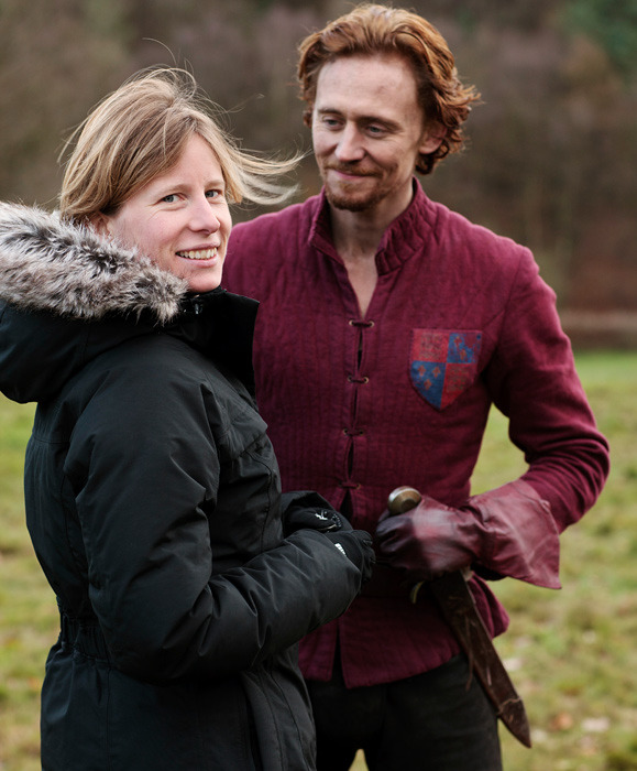 torrilla:  Behind the Scenes Photos of Henry V by Nick Briggs  Ugh, he's so ginger here… ♥__♥