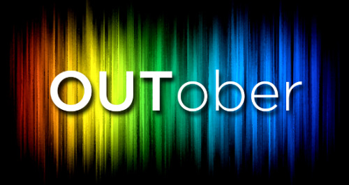 "October is, among other things, held up as LGBT History Month. Amidst that, October 11th, specifically, is 'National Coming-Out Day.' Now, this here's Tumblr… and it's a fairly safe space from what I've seen, and a place where people feel like they can be themselves, but that doesn't mean everyone who's ""free"" or ""out"" on Tumblr or other internet community sites is that free and out in their daily lives.  Or that they CAN be. I'm not going to go through a super-long post about this or get really personal with my own experience, but I feel it's important to mention the day and its significance.  I feel grateful that I can openly talk about Girlfriend on here (despite our super-complex relationship making that moniker just the best we can come up with), and that I have not received one bit of hate mail or one nasty comment about the fact that I do.  It's amazing… it really is.  It's how it should be, sure, but it still amazes me because I don't see this kind of openness and safety in the ""real world"" most of the time. So while I don't need to ""come out"" over Tumblr, and I'm not here to discuss my personal life, I wanted to clear my queue for the day and leave this post up for the entirety of October 11th (it's going to be hard, you guys, I'm an addict) in support of those who feel they can't come out anywhere.  In support of those who feel like their families and friends will never understand them.  In support of those who fear for their lives should anyone find out their secret, or because they already know.  In support of those who are bullied, outcast, persecuted and injured.  In support of those who have lost their lives because of their sexuality, whether at the hands of others or their own. I'd never encourage someone to come out just because someone put a name on a particular calendar date, but it's at least a day to reflect on the act and the feelings and implications wrapped up in it… whether you haven't yet, already have, or don't need to, it's still something to think about. Sidenote:  Today's calendar designation is 10/11/12.  That's fun on its own, right? ♥♥♥"