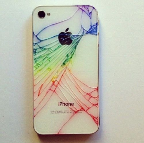 Make Your Broken iPhone Look Cool Again