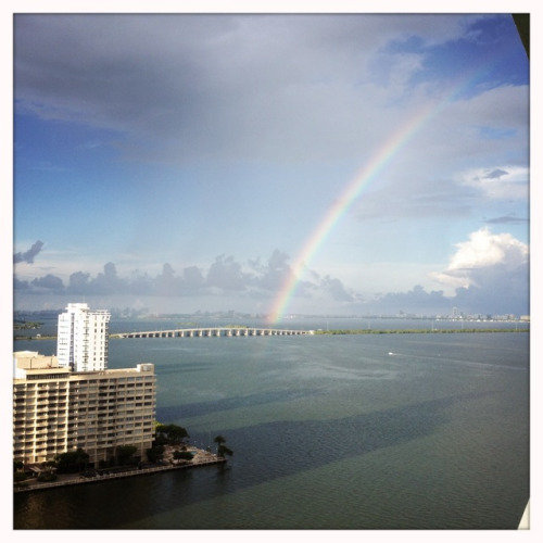 Rainbow On Biscayne Bay Miami, FL