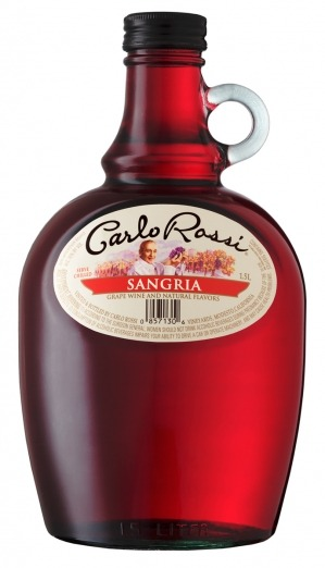Like grape juice? You'll love Carlo Rossi Sangria! Seriously, this tastes exactly like the grape juice they used to serve during communion at church. Plus, you get a decent buzz going but you'll never actually get drunk from this stuff. Sure it's cheap and crappy, but sometimes that's what I am in the mood for.