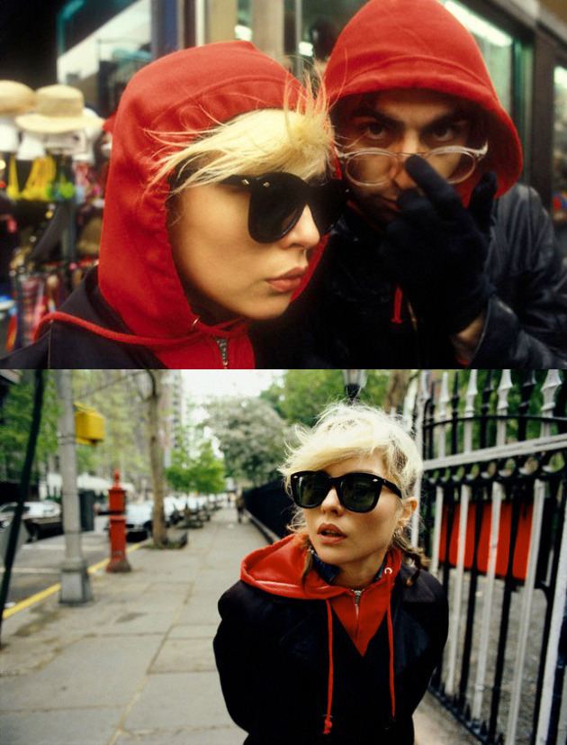superseventies:  Debbie Harry and Chris Stein photographed by Martyn Goddard, New York City, 1978.