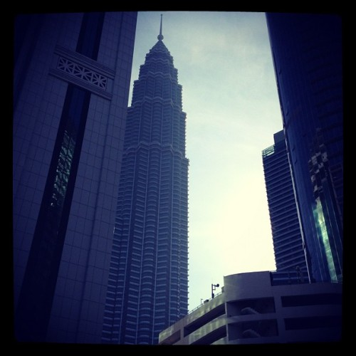 Morning.. Rise and shine.. #kl #morning #iphoneography (Taken with Instagram)