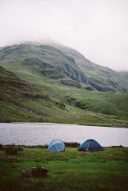 Wild camp by Bazzerio on Flickr.