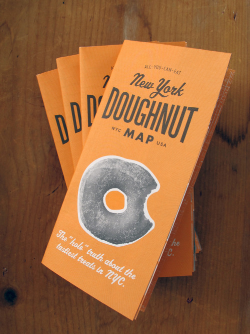 Apparently you can go on a delicious doughnut adventure in NYC, with a map and everything. Sounds good to me…