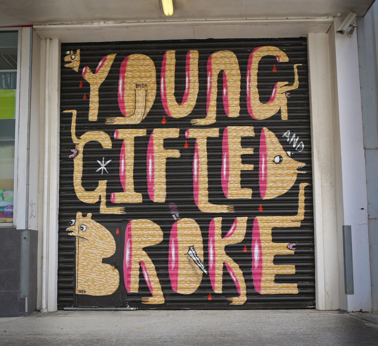 Young Gifted and Broke. Mixtape coming shortly. Photo: Blake Dunlop