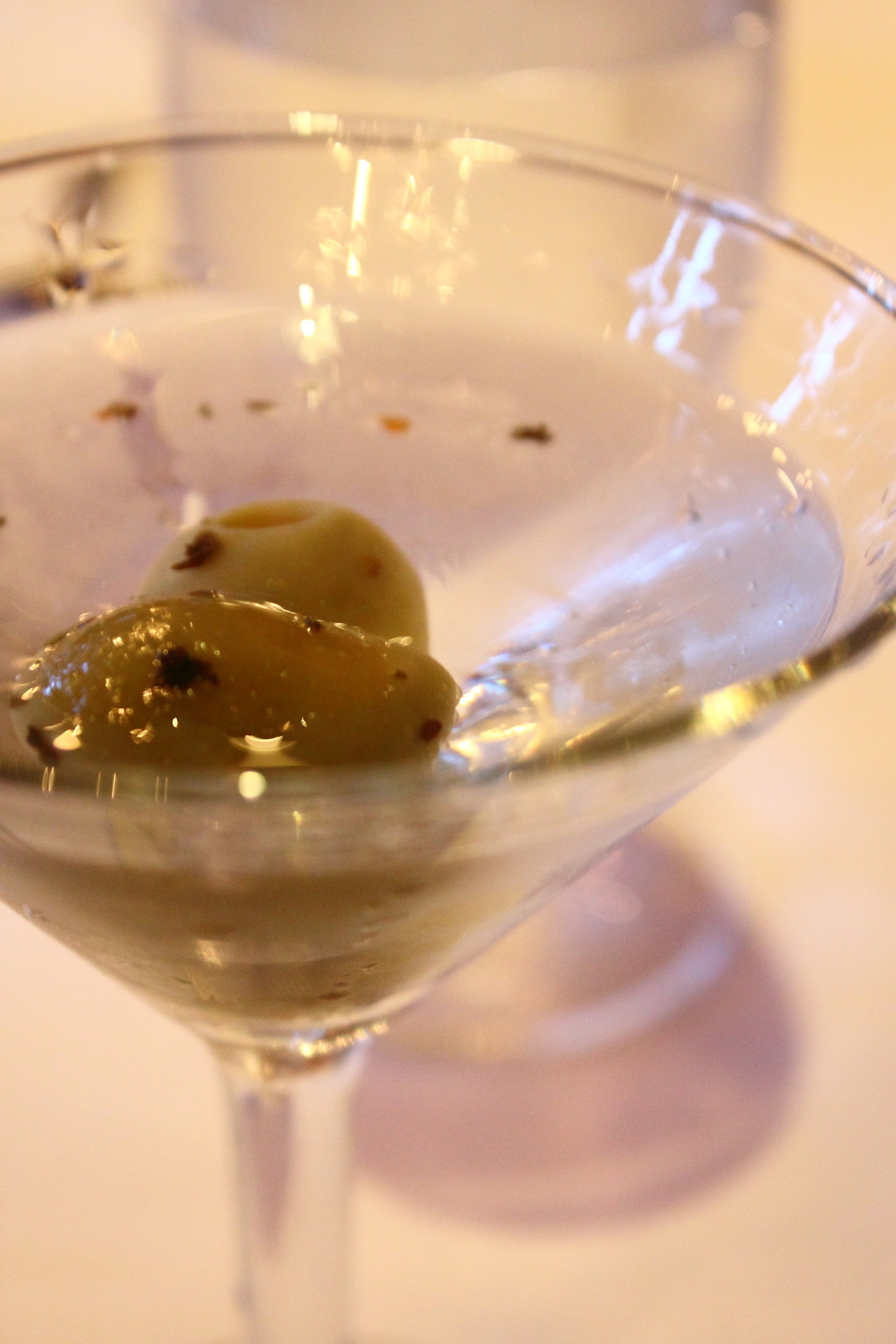 Classic Martini from Fair Trade Dinner