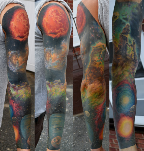 Space sleeve by Dan Henk