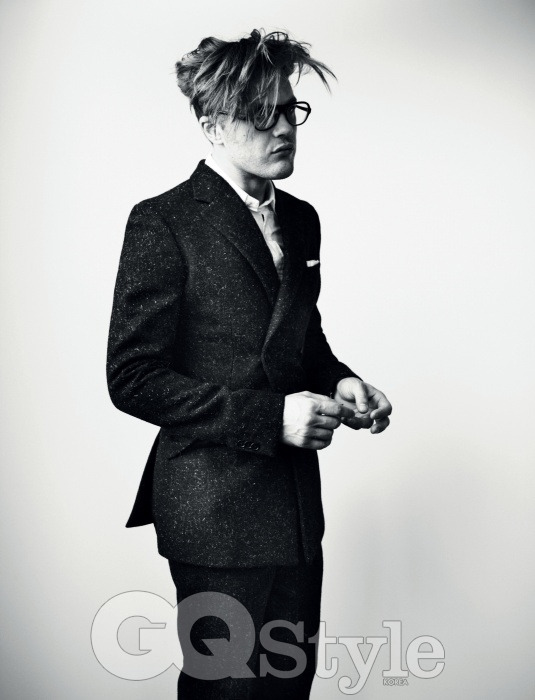 Michael Pitt - GQ Style Korea #1 by Richard Phibbs, Fall/Winter 2012-13