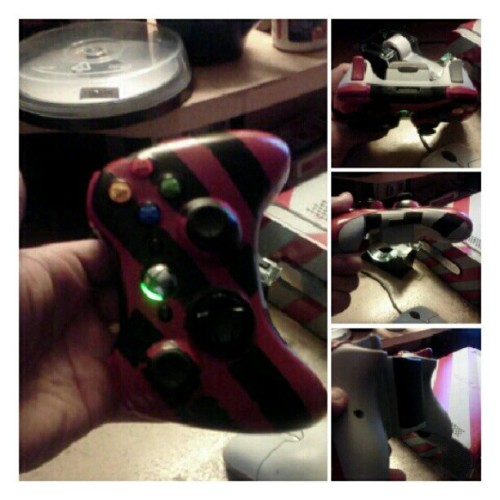 Painted my controller. (Taken with Instagram)