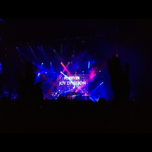 New order covering love will tear us apart.  (Taken with Instagram)