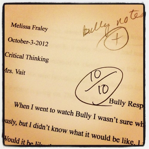 I love getting good grades! :D (Taken with Instagram)