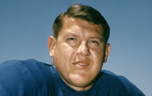 (via Alex Karras, N.F.L. Lineman and Actor, Dies at 77 - NYTimes.com)  Alex Karras, a fierce and relentless All-Pro lineman for the Detroit Lions whose irrepressible character frequently placed him at odds with football's authorities but led to a second career as an actor on television and in the movies, died Wednesday at his home in Los Angeles. He was 77…