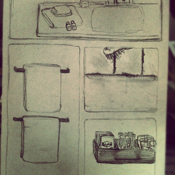 Daily #sketches in the #studio #unilife #art (Taken with Instagram at Gate 5 VCA School Of Art)