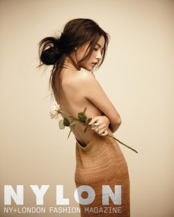 stylekorea:  Nylon Korea Model: Min Hyo Rin September 2012