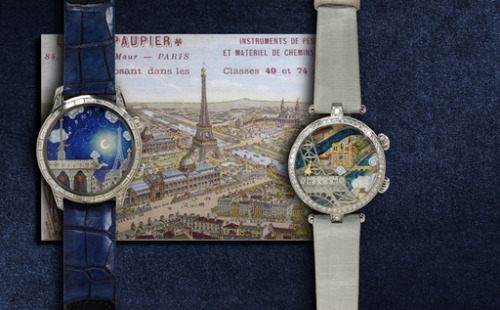 His and Hers Van Cleef and Arpels watches with an over-the-top luxury vacay in Paris and Geneva. YES please!!!