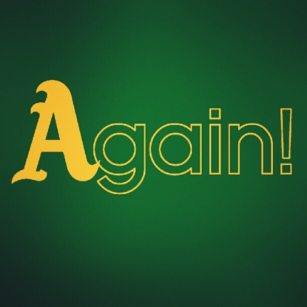 #postseason #oakland #alds #athletics  (Taken with Instagram)