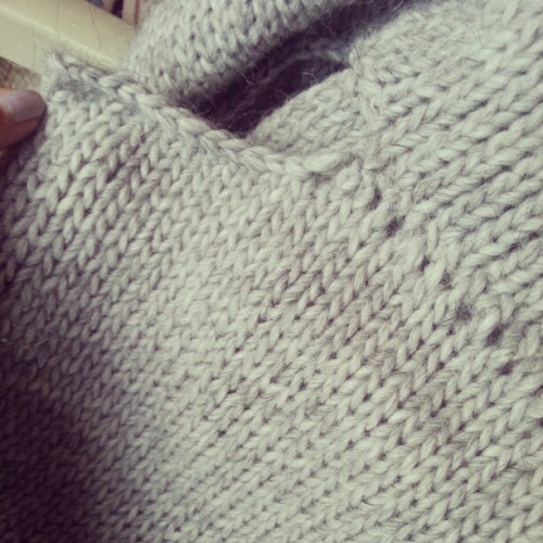 Just a plain knit for my homies. #knit #diy (Taken with Instagram)