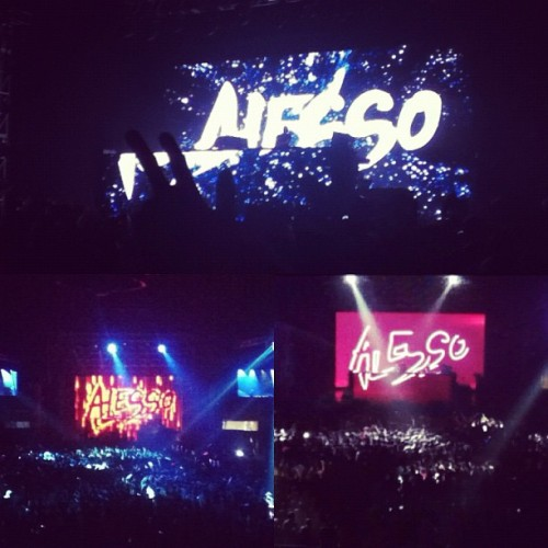 Last night! #alesso! He was worth it all!!! @jammillonado @rmcdm #adrian (Taken with Instagram)