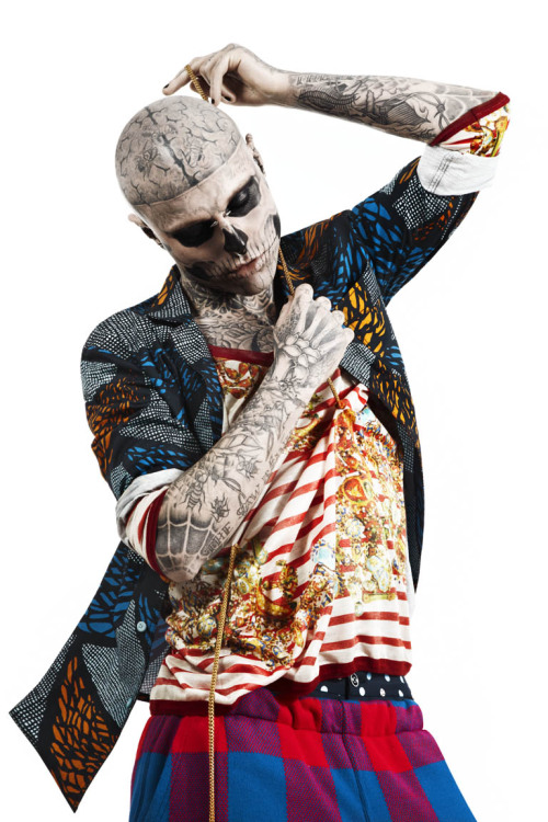 MORPHOSIS - Rick Genest (part 36) by Oliver Rauh